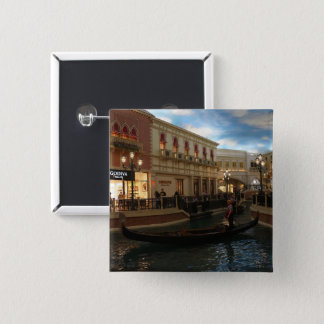Gondola Ride at The Venetian Pinback Button
