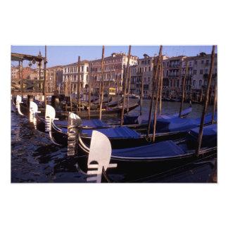Gondola Station on Canal Grande Photo