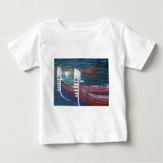 gondolas at sunset tee shirts