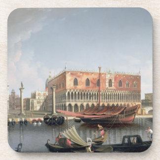 Gondolas before St. Marks Square, Venice Coaster