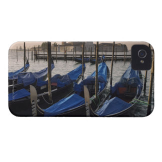 Gondolas by Saint Marks Square in Italy iPhone 4 Case-Mate Cases