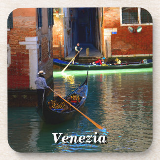 Gondolas in Venice, Italy Coaster