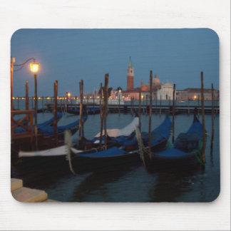 Gondolas in Venice Mouse Mat