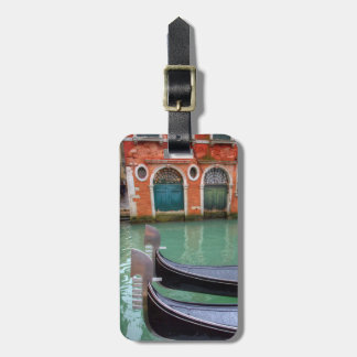 Gondolas on the Grand Canal, Venice Luggage Tag