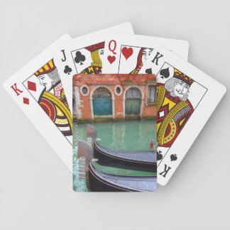 Gondolas on the Grand Canal, Venice Playing Cards