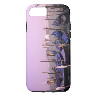 Gondolas ready for tourists in Venice Italy iPhone 7 Case