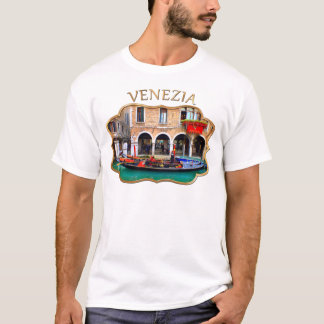 Gondolier in Cannaregio T-Shirt