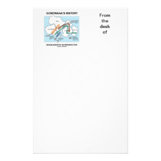 Gondwana s History Biogeography In Perspective Stationery Design