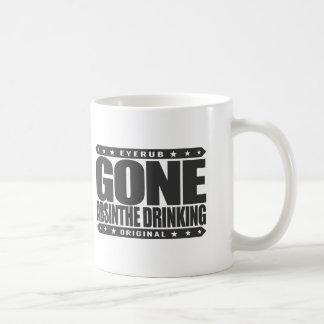 GONE ABSINTHE DRINKING - Love to Drink Green Fairy Basic White Mug