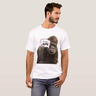 Gone Ape Cartoon Themed T-Shirt