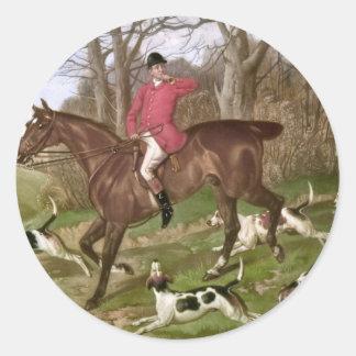 Gone Away Classic Round Sticker