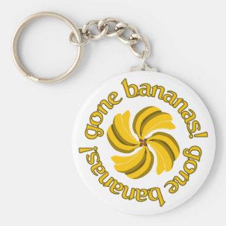 Gone Bananas! key chain