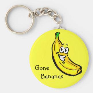 Gone Bananas Key Ring