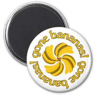 Gone Bananas! magnet