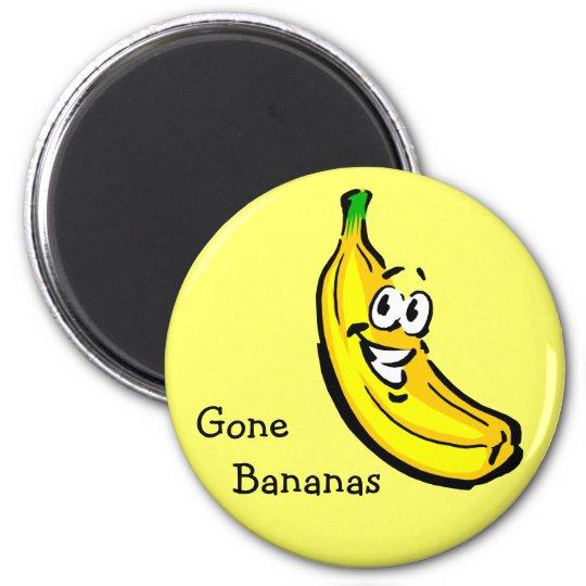 Gone Bananas Magnet