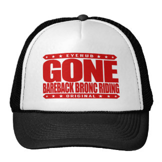 GONE BAREBACK BRONC RIDING - Luv Rodeo Competition Cap