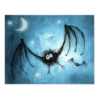 Gone Batty Halloween Party Invitation
