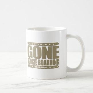 GONE BOOGIE BOARDING - I Love Ocean & Bodyboarding Basic White Mug