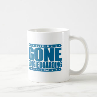 GONE BOOGIE BOARDING - I Love Ocean & Bodyboarding Coffee Mug