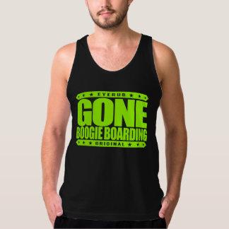 GONE BOOGIE BOARDING - I Love Ocean & Bodyboarding Tank Tops
