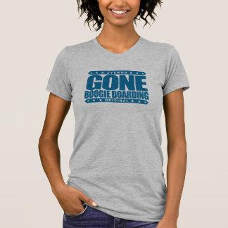 GONE BOOGIE BOARDING - I Love Ocean & Bodyboarding Tees