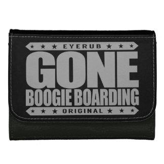 GONE BOOGIE BOARDING - I Love Ocean & Bodyboarding Women's Wallet
