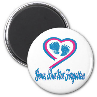 Gone But Not Forgotten 6 Cm Round Magnet