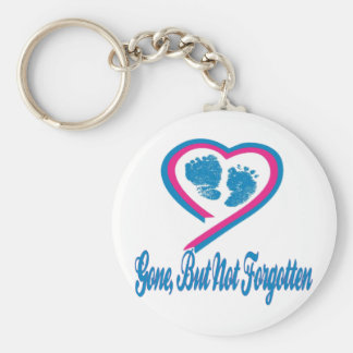 Gone But Not Forgotten Basic Round Button Key Ring