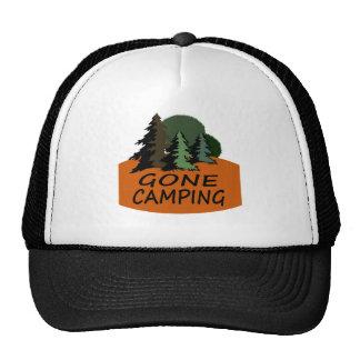 Gone Camping Camper Logo Cap