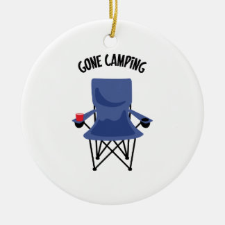 Gone Camping Christmas Ornament