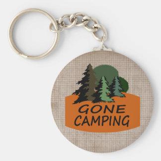 Gone Camping Key Ring