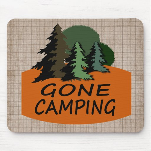 Gone Camping Mouse Pad