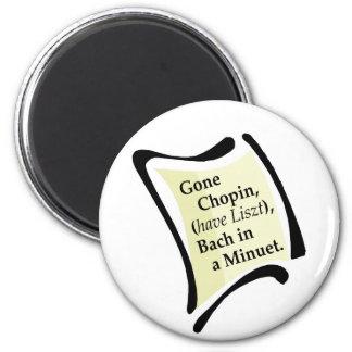 Gone Chopini Magnet