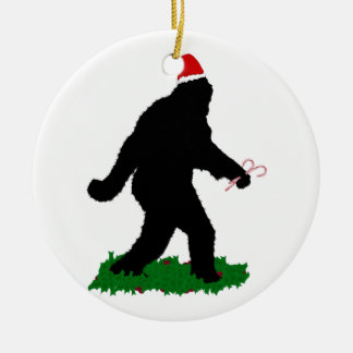 Gone Christmas , Gone Squatchin' Christmas Ornament