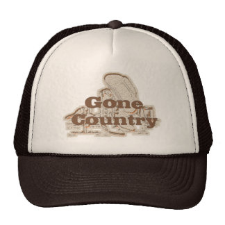 Gone Country...Hat Cap
