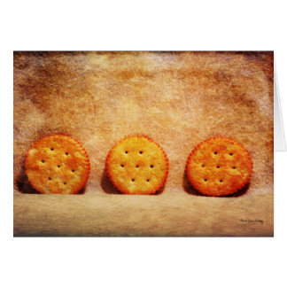 Gone Crackers Greeting Card