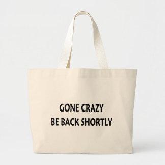 Gone Crazy Jumbo Tote Bag