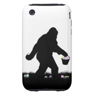 Gone Easter Squatchin Tough iPhone 3 Covers