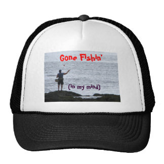 Gone Fishin' Cap
