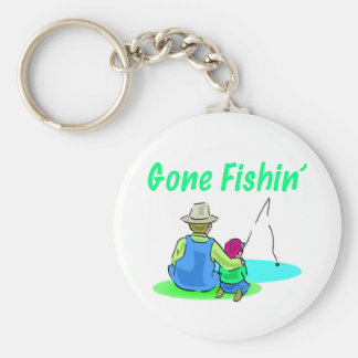 Gone Fishin' Keychain