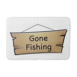 gone fishing bathmat