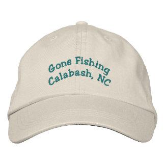 Gone Fishing         Calabash, NC Embroidered Baseball Cap