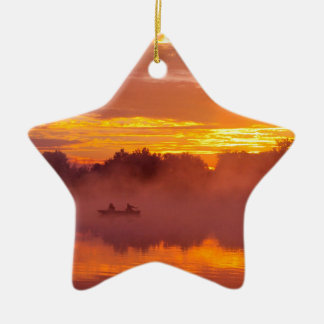 Gone Fishing Christmas Ornament