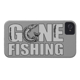 GONE FISHING custom iPhone case-mate