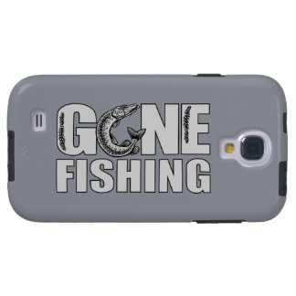 GONE FISHING custom Samsung case