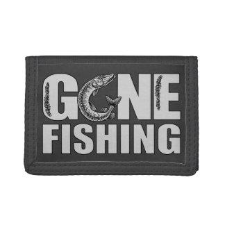 GONE FISHING custom wallets