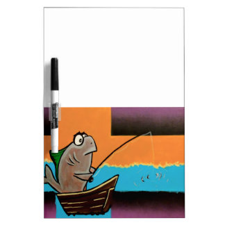 Gone Fishing Dry Erase Boards