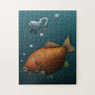 Gone Fishing Jigsaw Puzzle