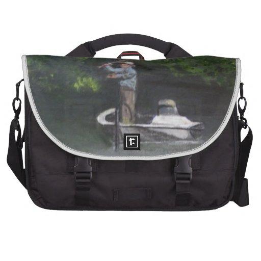 Gone Fishing Laptop Bag
