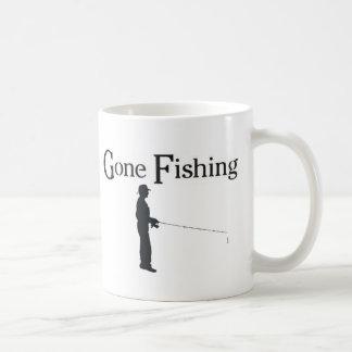 Gone Fishing, Man fishing Coffee Mugs